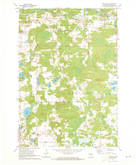 Download a high-resolution, GPS-compatible USGS topo map for Big Falls, WI (1973 edition)