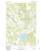 Download a high-resolution, GPS-compatible USGS topo map for Big Round Lake, WI (1983 edition)