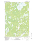 Download a high-resolution, GPS-compatible USGS topo map for Black Lake, WI (1983 edition)