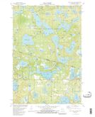Download a high-resolution, GPS-compatible USGS topo map for Black Oak Lake, WI (1988 edition)