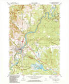 Download a high-resolution, GPS-compatible USGS topo map for Black River Falls, WI (1984 edition)