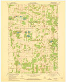Download a high-resolution, GPS-compatible USGS topo map for Blaine, WI (1972 edition)