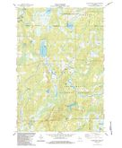 Download a high-resolution, GPS-compatible USGS topo map for Blockhouse Lake, WI (1984 edition)