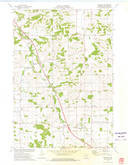 Download a high-resolution, GPS-compatible USGS topo map for Brackett, WI (1975 edition)