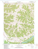 Download a high-resolution, GPS-compatible USGS topo map for Bridgeport, WI (1983 edition)