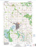 Download a high-resolution, GPS-compatible USGS topo map for Brillion, WI (1996 edition)