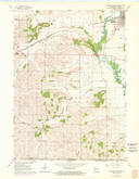 Download a high-resolution, GPS-compatible USGS topo map for Brodhead West, WI (1972 edition)