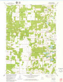Download a high-resolution, GPS-compatible USGS topo map for Brooks, WI (1979 edition)