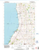 Download a high-resolution, GPS-compatible USGS topo map for Brothertown, WI (1996 edition)