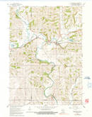 Download a high-resolution, GPS-compatible USGS topo map for Browntown, WI (1991 edition)