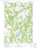 Download a high-resolution, GPS-compatible USGS topo map for Bruce, WI (1974 edition)