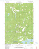 Download a high-resolution, GPS-compatible USGS topo map for Buckety Creek, WI (1983 edition)