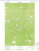 Download a high-resolution, GPS-compatible USGS topo map for Bucks Lake, WI (1974 edition)