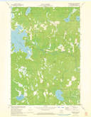 Download a high-resolution, GPS-compatible USGS topo map for Burrows Lake, WI (1973 edition)