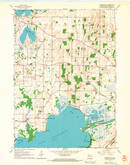 Download a high-resolution, GPS-compatible USGS topo map for Busseyville, WI (1964 edition)