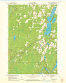 Download a high-resolution, GPS-compatible USGS topo map for Butternut Lake, WI (1972 edition)