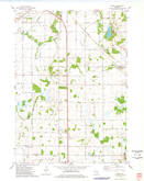 Download a high-resolution, GPS-compatible USGS topo map for Byron, WI (1978 edition)