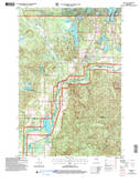 Download a high-resolution, GPS-compatible USGS topo map for Cable, WI (2006 edition)