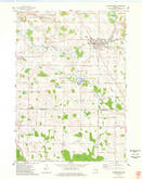 Download a high-resolution, GPS-compatible USGS topo map for Campbellsport, WI (1978 edition)