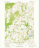 Download a high-resolution, GPS-compatible USGS topo map for Cascade, WI (1977 edition)