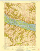 Download a high-resolution, GPS-compatible USGS topo map for Cassville, WI (1957 edition)