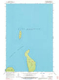 Download a high-resolution, GPS-compatible USGS topo map for Cat Island, WI (1992 edition)