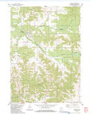 Download a high-resolution, GPS-compatible USGS topo map for Cataract, WI (1984 edition)