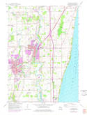 Download a high-resolution, GPS-compatible USGS topo map for Cedarburg, WI (1977 edition)