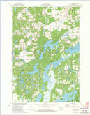 Download a high-resolution, GPS-compatible USGS topo map for Chain Lake, WI (1974 edition)
