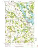 Download a high-resolution, GPS-compatible USGS topo map for Chetek, WI (1979 edition)
