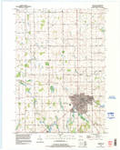 Download a high-resolution, GPS-compatible USGS topo map for Chilton, WI (1996 edition)