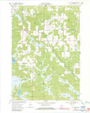 Download a high-resolution, GPS-compatible USGS topo map for City Point NE, WI (1985 edition)