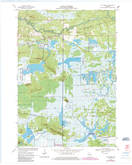 Download a high-resolution, GPS-compatible USGS topo map for City Point, WI (1985 edition)