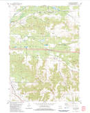 Download a high-resolution, GPS-compatible USGS topo map for City Rock, WI (1984 edition)
