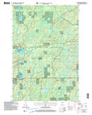 Download a high-resolution, GPS-compatible USGS topo map for Clam Lake NE, WI (2006 edition)