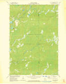 Download a high-resolution, GPS-compatible USGS topo map for Clam Lake SW, WI (1973 edition)