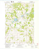 Download a high-resolution, GPS-compatible USGS topo map for Clayton, WI (1979 edition)