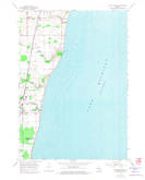 Download a high-resolution, GPS-compatible USGS topo map for Cleveland East, WI (1974 edition)