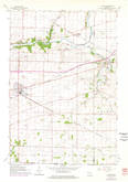 Download a high-resolution, GPS-compatible USGS topo map for Clinton, WI (1977 edition)