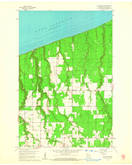 Download a high-resolution, GPS-compatible USGS topo map for Cloverland, WI (1962 edition)