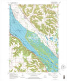 Download a high-resolution, GPS-compatible USGS topo map for Cochrane, WI (1976 edition)