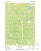 Download a high-resolution, GPS-compatible USGS topo map for Coleman Lake, WI (1991 edition)