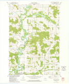 Download a high-resolution, GPS-compatible USGS topo map for Colfax North, WI (1978 edition)