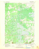 Download a high-resolution, GPS-compatible USGS topo map for Coloma SW, WI (1971 edition)