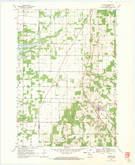 Download a high-resolution, GPS-compatible USGS topo map for Coloma, WI (1971 edition)