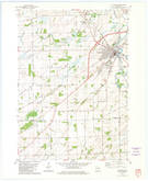 Download a high-resolution, GPS-compatible USGS topo map for Columbus, WI (1981 edition)