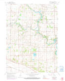 Download a high-resolution, GPS-compatible USGS topo map for Cooksville, WI (1990 edition)