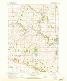 Download a high-resolution, GPS-compatible USGS topo map for Cooksville, WI (1972 edition)
