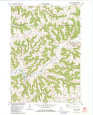 Download a high-resolution, GPS-compatible USGS topo map for Coon Valley, WI (1983 edition)