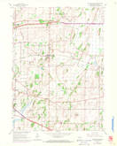 Download a high-resolution, GPS-compatible USGS topo map for Cottage Grove, WI (1970 edition)